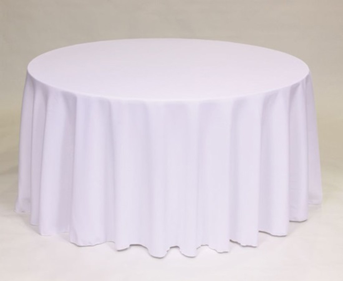 Round tablecloths pacific linen for 120 inch round table cloths